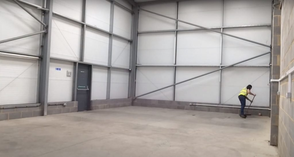 Before and After: Building a warehouse