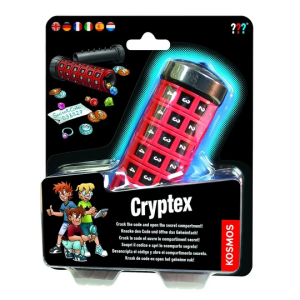 Cryptex code breaking toy.